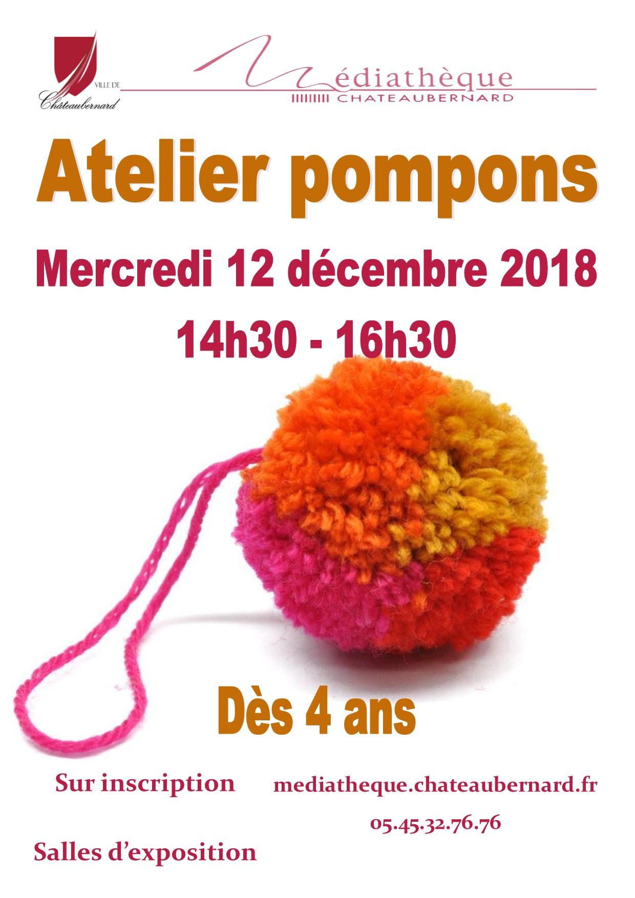 Atelier pompons  